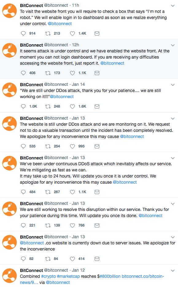 Bitconnect kommer försvinna?
